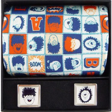 Tie and Cufflink Sets Sonia Spencer Beano Dennis & Gnasher Heads Tie & Cufflink Boxed Set £50.00