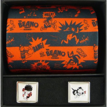 Tie and Cufflink Sets Sonia Spencer Beano Dennis & Gnasher Running Tie & Cufflink Boxed Set £50.00