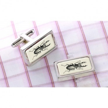In Flight Sonia Spencer Beetle Cufflinks £30.00