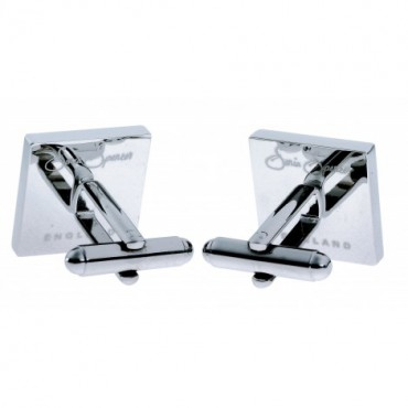 Contemporary Sonia Spencer Black Check Cufflinks £30.00