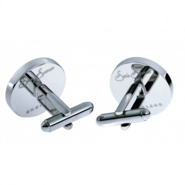 Chunky Dome Sonia Spencer Black Chip Cufflinks £30.00