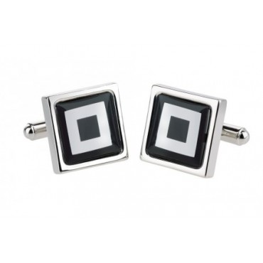 Contemporary Sonia Spencer Black Squares Cufflinks £30.00