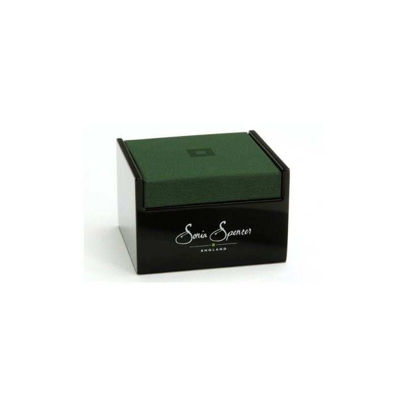 Contemporary Sonia Spencer Black Union Jack Cufflinks £30.00