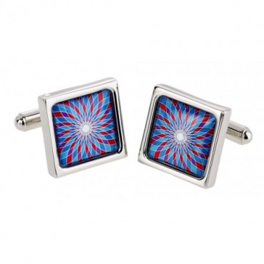 Contemporary Sonia Spencer Blue Spiro Cufflinks £30.00