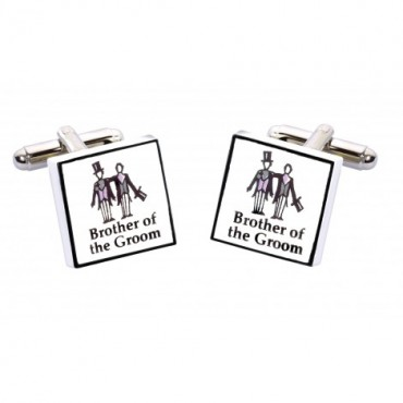 Wedding Sonia Spencer Brother Of The Groom Contemporary Cufflinks £20.00