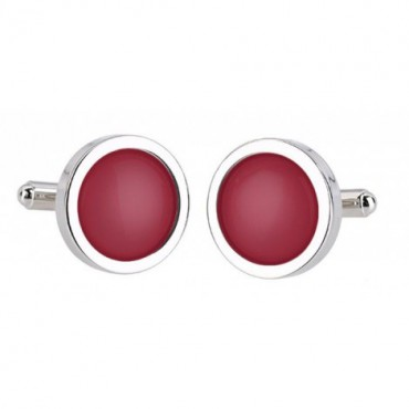 Wedding Sonia Spencer Burgundy Cufflinks £30.00