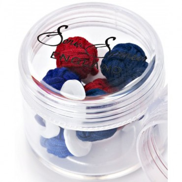 Knots Sonia Spencer Button Knot Cufflink Colour Pots Winter £15.00