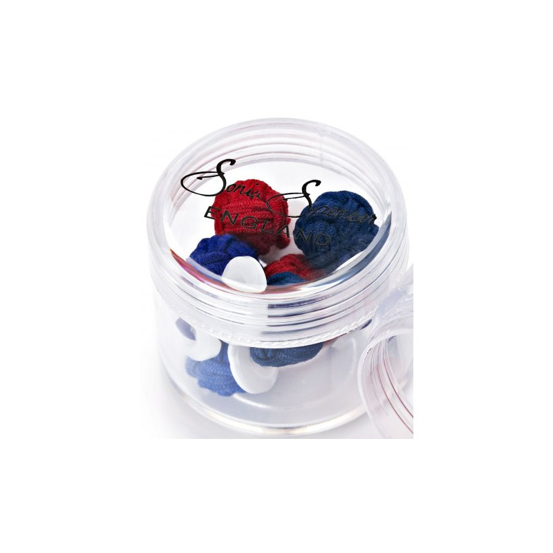 Knots Sonia Spencer Button Knot Cufflink Colour Pots Winter £15.00