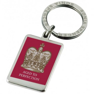 Key Rings Sonia Spencer Crown Keyring Aged To Perfection £20.00
