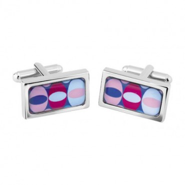 Chunky Dome Sonia Spencer Egg Jewel Cufflinks £30.00