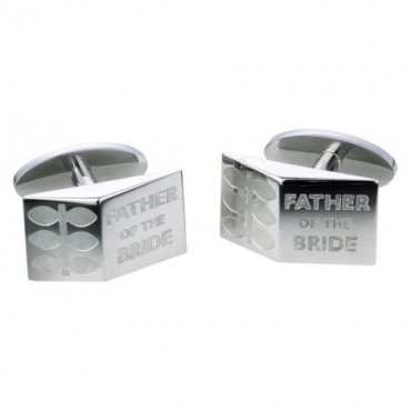 Contemporary Sonia Spencer Father Of The Bride Sprig Cufflinks £30.00