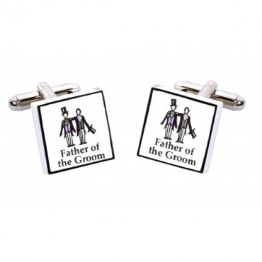 Wedding Sonia Spencer Father Of The Groom Contemporary Cufflinks £20.00
