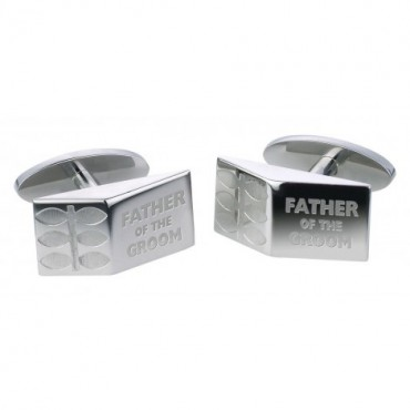Contemporary Sonia Spencer Father Of The Groom Sprig Cufflinks £30.00