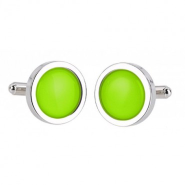 Wedding Sonia Spencer Green Lime Cufflinks £30.00