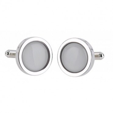 Wedding Sonia Spencer Grey Cufflinks £30.00