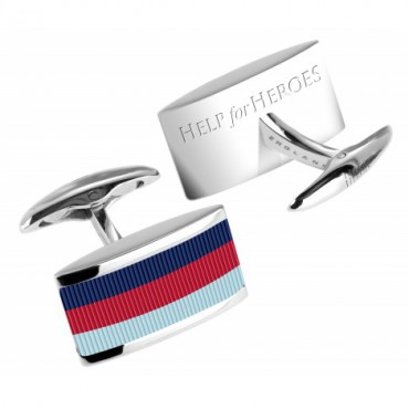 Contemporary Sonia Spencer Help For Heroes Charity Cufflinks £40.00
