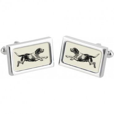 Fashion and Pattern Sonia Spencer Hound Cufflinks £30.00