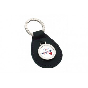 Key Rings Sonia Spencer I Love Daddy Keyring Green £14.00