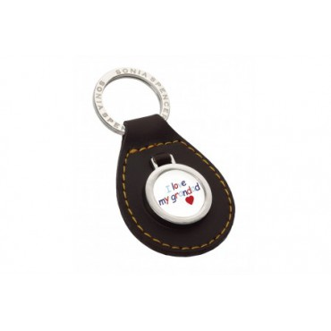 Key Rings Sonia Spencer I Love Grandad Keyring Brown £14.00