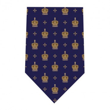 Tie and Cufflink Sets Sonia Spencer Jubilee Crown Navy £30.00