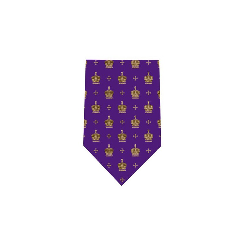 Tie and Cufflink Sets Sonia Spencer Jubilee Crown Purple £30.00