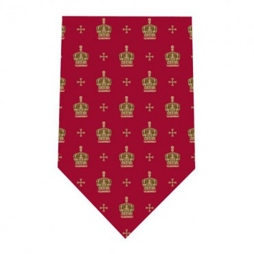 Tie and Cufflink Sets Sonia Spencer Jubilee Crown Red £30.00