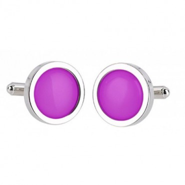 Wedding Sonia Spencer Magenta Cufflinks £30.00