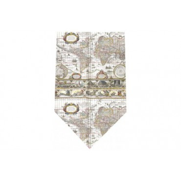 Tie and Cufflink Sets Sonia Spencer Mappa Mundi Silk Tie £30.00