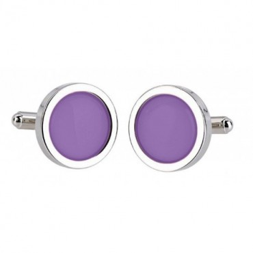 Wedding Sonia Spencer Mauve Cufflinks £30.00