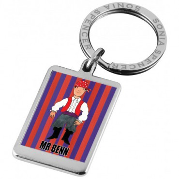 Key Rings Sonia Spencer Mr Benn Pirate Keyring £15.00