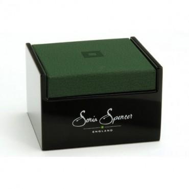 Steel Sonia Spencer Nordic Leaves Cufflinks £30.00
