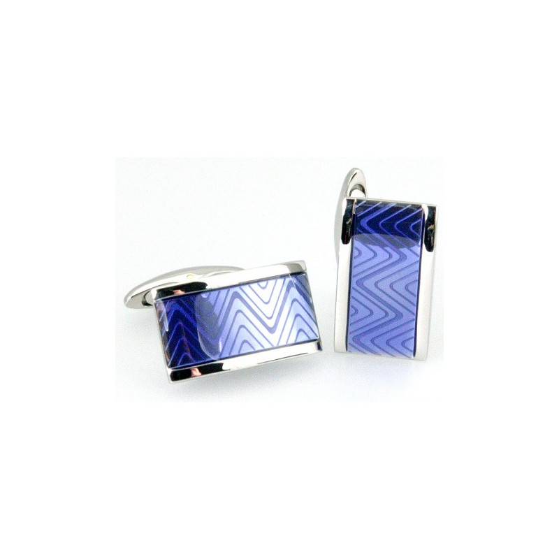 Others Sonia Spencer Oblong Zigzag Blue £45.00