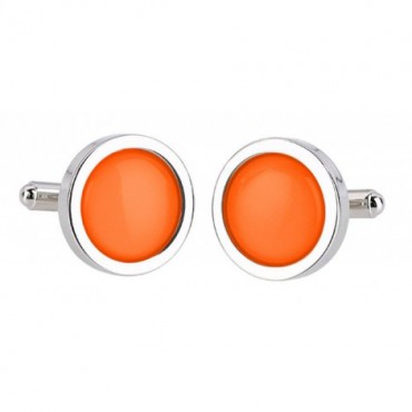 Wedding Sonia Spencer Orange Cufflinks £30.00