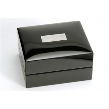 Contemporary Sonia Spencer Oval Thumb Print Purple Cufflinks £45.00