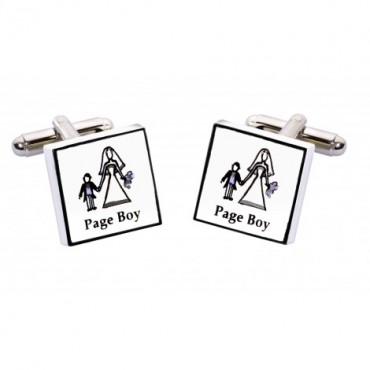 Wedding Sonia Spencer Page Boy Contemporary Cufflinks £20.00