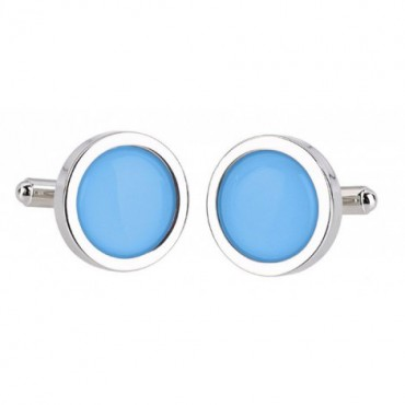 Wedding Sonia Spencer Pale Blue Cufflinks £30.00