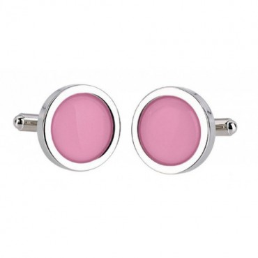 Wedding Sonia Spencer Pink Cufflinks £30.00