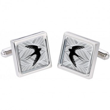 In Flight Sonia Spencer Silhouette Bird Cufflinks £30.00