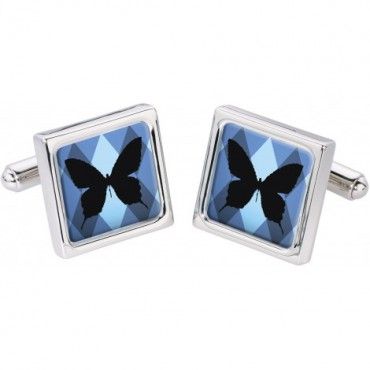 In Flight Sonia Spencer Silhouette Butterfly Cufflinks £30.00