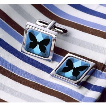 In Flight Sonia Spencer Silhouette Butterfly Cufflinks £30.00