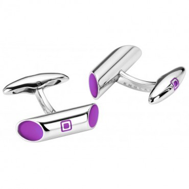 Contemporary Sonia Spencer Spotlight Purple Cufflinks £45.00