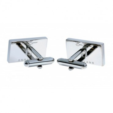 Chunky Dome Sonia Spencer Test Card Mercury Cufflinks £30.00