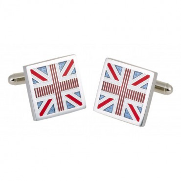 Others Sonia Spencer Union Jack Blue Cufflinks £25.00
