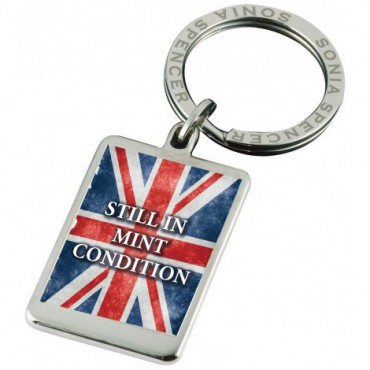 Key Rings Sonia Spencer Union Jack Keyring Still In Mint Condition £20.00