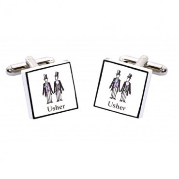 Wedding Sonia Spencer Usher Contemporary Cufflinks £20.00