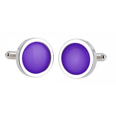 Wedding Sonia Spencer Violet Cufflinks £30.00