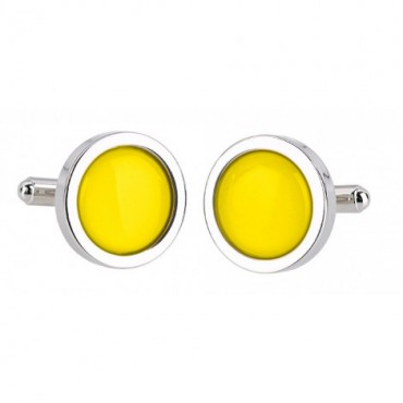 Wedding Sonia Spencer Yellow Cufflinks £30.00
