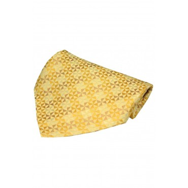 Fashion Handkerchiefs Soprano Ties Gold Windmill Design Silk Hanky £20.00