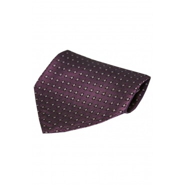 Fashion Handkerchiefs Soprano Ties Purple Neat Small Flowers Design Silk Hanky £20.00