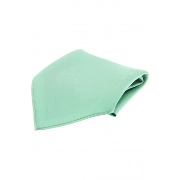 Wedding Handkerchiefs Soprano Ties Soprano Plain Satin Mint Green Mens Silk Pocket Square £20.00